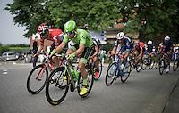Wouter Wippert (NLD/Cannondale) & Jurgen Roelandts (BEL/Lotto-Soudal) racing side by side<br /> <br /> Heistse Pijl 2016