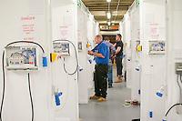 Muliple bays for teaching electrics, Able Skills, Dartford, Kent.