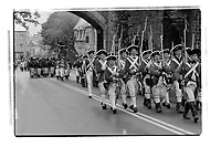 Military Re enactment in Canada (date unknown)<br /> PHOTO : Agence Quebec Presse