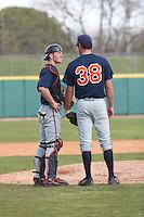 SAN ANTONIO, TX - MARCH 10, 2007: The College of Charleston Cougars vs. The University of Texas at San Antonio Roadrunners Baseball at Nelson Wolff Stadium. (Photo by Jeff Huehn)