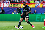 Danilo Luiz da Silva of Real Madrid during the match of Champions League between Atletico de Madrid and Real Madrid at Vicente Calderon Stadium in Madrid, May 10, 2017. Spain.