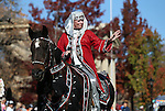 Riders with the Parading Arabians participate in the annual Nevada Day parade in Carson City, Nev. on Saturday, Oct. 29, 2016. <br />Photo by Cathleen Allison