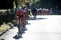 Annemiek van Vleuten (NED/Movistar)<br /> <br /> Women Elite - Road Race (WC)<br /> from Antwerp to Leuven (158km)<br /> <br /> UCI Road World Championships - Flanders Belgium 2021<br /> <br /> ©kramon