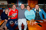 Gavin Galway from Ballyheigue celebrating his birthday in the White Sands in Ballyheigue on Sunday, l to r: Pat and Brian Scanlon, Gavin Galway, Melissa Campion and Paul Galway.