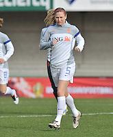 Belgium - The Netherlands : Claudia van den Heiligenberg.foto DAVID CATRY / Vrouwenteam.be