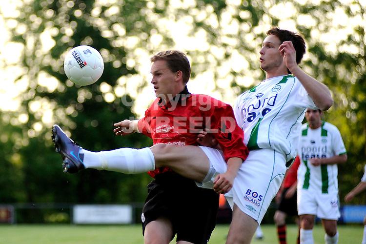 voetbal vv eenrum - fc groningen vriendschappelijk seizoen 2007-2008 15-05-2008 tim matavz..fotograaf Jan Kanning