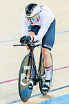 Maximilian Dornback of Germany competes in the Men's Kilometre TT Final during the 2017 UCI Track Cycling World Championships on 16 April 2017, in Hong Kong Velodrome, Hong Kong, China. Photo by Chris Wong / Power Sport Images