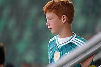 Deutscher Fan im Stadion - St. Gallen 02.09.2021: Lichtenstein vs. Deutschland, WM-Qualifikation, St. Gallen