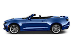 Car driver side profile view of a 2019 Chevrolet Camaro 2SS 2 Door Convertible
