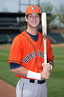 Buies Creek Astros outfielder Kyle Tucker (30) poses for a photo prior to the game against the Winston-Salem Dash at BB&T Ballpark on April 16, 2017 in Winston-Salem, North Carolina.  The Dash defeated the Astros 6-2.  (Brian Westerholt/Four Seam Images)