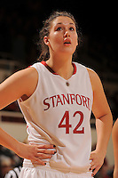 Stanford, CA - DECEMBER 28:  Forward Sarah Boothe #42 of the Stanford Cardinal during Stanford's 84-49 win against the UC Davis Aggies on December 28, 2008 at Maples Pavilion in Stanford, California.