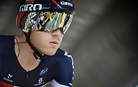 Matthias Brändle (AUT/IAM) on the start podium<br /> <br /> stage 1 prologue: Utrecht (13.8km)<br /> Tour de France 2015