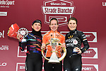 Anna van der Breggen (NED) Boels Dolmans Cycling Team  takes a solo victory with Katarzyna Niewiadoma (POL) Canyon-Sram in 2nd place and lisa Longo Borghini (ITA) Wiggle High5 3rd, of the 2018 Strade Bianche Women Elite NamedSport race running 136km from Siena to Siena, Italy. 3rd March 2018.<br /> Picture: LaPresse/Massimo Paolone | Cyclefile<br /> <br /> <br /> All photos usage must carry mandatory copyright credit (© Cyclefile | LaPresse/Massimo Paolone)