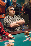 """""""Syracuse"""" Chris Tsiprailidis Eliminated 24th ($20,876)..Alex Jacob limped in from early position and Tsiprailidis pushed all in from the button for $78,500 more. Jacob called with 5h-5s while Tsiprailidis flipped over Kc-Ks. The board came As-4c-4h, but the turn was the 5d giving Jacob a set. The river was the 9d eliminating """"Syracuse"""" Tsiprailidis in 24th place."""