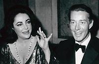 Liz Taylor and Halston 1978<br /> Photo By John Barrett-PHOTOlink.net / MediaPunch