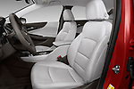 Front seat view of a 2018 Chevrolet Malibu Premier 4 Door Sedan front seat car photos