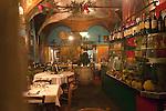 Interior, Gargo Restaurant, Florence, city, Tuscany, Italy, Italian, Europe, European