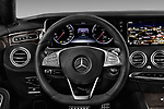 Car pictures of steering wheel view of a 2017 Mercedes Benz S-Class - 2 Door Coupe Steering Wheel