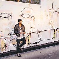 Louis Carreon's 'Faces' at the Mondrian