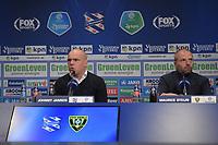 VOETBAL: HEERENVEEN: Abe Lenstra Stadion, 23-04-2019, SC Heerenveen - VVV, uitslag 2-2, trainer Johnny Jansen, ©foto Martin de Jong