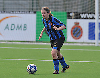 Club Brugge Dames - Rassing Harelbeke : Berdien Van Den Driessche.foto DAVID CATRY / Vrouwenteam.Be