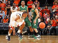 Nov. 12, 2010; Charlottesville, VA, USA;  during the game at the John Paul Jones Arena.  Mandatory Credit: Andrew Shurtleff-US PRESSWIRE