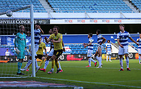 reaction to Shaun Hutchinson of Millwall scores a late goal but is ruled offside during Queens Park Rangers vs Millwall, Sky Bet EFL Championship Football at Loftus Road Stadium on 18th July 2020
