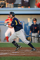 September 1, 2009:  Catcher Craig Parry of the State College Spikes during a game at Frontier Field in Rochester, NY.  State College is the NY-Penn League affiliate of the Pittsburgh Pirates.  Photo By Mike Janes/Four Seam Images