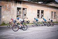 the breakaway group<br /> <br /> Stage 1 from Lido di Camaiore to Lido di Camaiore (156km)<br /> <br /> 56th Tirreno-Adriatico 2021 (2.UWT) <br /> <br /> ©kramon