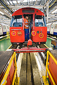 London Underground's Northumberland Park Depot, which services the 42 tube trains on the Victoria line.