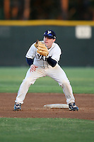 March 13, 2010:  Second Baseman Gant Elmore of the Yale Bulldogs vs. the Akron Zips in a game at Henley Field in Lakeland, FL.  Photo By Mike Janes/Four Seam Images