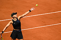 8th June 2021; Roland Garros, Paris France; French Open tennis championships day 10;  Paula BADOSA ( Esp )