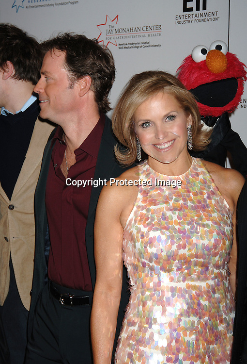 Greg Kinnear, Elmo, Katie Couric..at The Entertainment Industry Foundation National Colorectal Cancer Research Alliance and The Jay Monahan Center for Gastrointestinal Health Hollywood Meets Motown Benefit on March 15, 2006 at The Waldorf Astoria Hotel. ..Robin Platzer, Twin Images