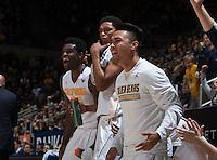 Berkeley, CA - December 28, 2015: CAL Men's Basketball's 86-60 victory against Davidson at Haas Pavilion.