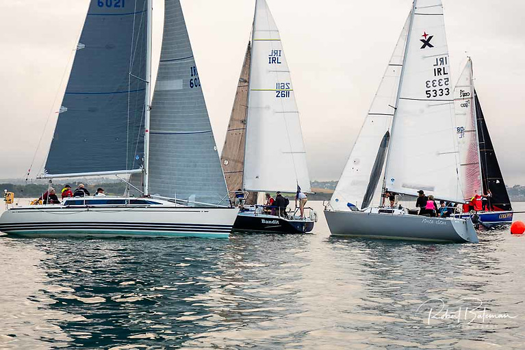 There was an 11-boat turnout for the final Thursday night cruiser race at Royal Cork Yacht Club