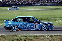 Round 13 of the 1991 British Touring Car Championship. #11 Will Hoy (GBR). BMW Team Listerine. BMW M3.
