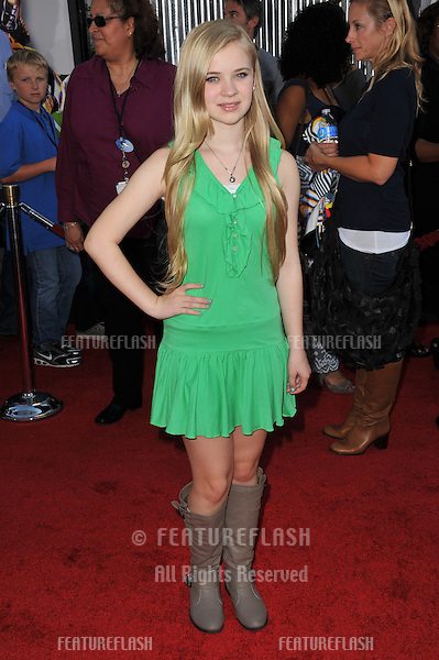 """Sierra McCormick at the Los Angeles premiere of """"Real Steel"""" at Universal Studios Hollywood..October 2, 2011  Los Angeles, CA.Picture: Paul Smith / Featureflash"""