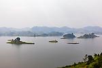 Scenic Of Lake Mutanda And Islands
