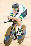 Riders compete on the Men's Individual Pursuit Final during the 2017 UCI Track Cycling World Championships on 14 April 2017, in Hong Kong Velodrome, Hong Kong, China. Photo by Marcio Rodrigo Machado / Power Sport Images