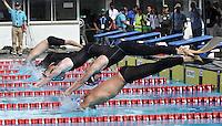 CALI - COLOMBIA - 26-07-2013: Competencias de Natacion con Aletas en las Piscinas Hernando Botero O´Byrne, durante los IX Juegos Mundiales Cali julio 26 de 2013.(Foto: VizzorImage / Luis Ramirez / Staff.) Competencies finswimming in the Pools Hernando Botero O'Byrne, during the IX World Games Cali July 26, 2013. (Photo: VizzorImage / Luis Ramirez / Staff.)