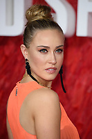 """Nicole O'Neill<br /> arriving for the """"Red Sparrow"""" premiere at the Vue West End, Leicester Square, London<br /> <br /> <br /> ©Ash Knotek  D3382  19/02/2018"""