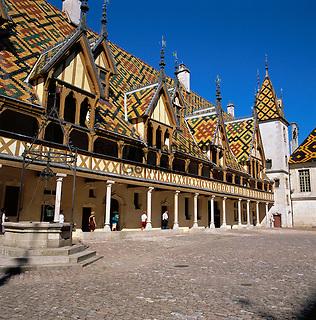 France, Burgundy, Côte d'Or, Beaune: Hôtel-Dieu (Hospices de Beaune) | Frankreich, Burgund, Côte d'Or, Beaune: Hôtel-Dieu (Hospices de Beaune)