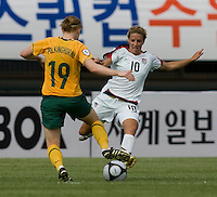 Aly Wagner, Clare Polkinghorne