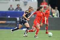 Washington Freedom (10) Homare Sawa during before a game against  the Los Angeles Sol at the Home Depot Center in Carson, CA on Sunday, March 29, 2009..