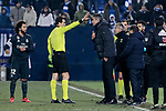 CD Leganes's coach Mauricio Pellegrino dejected during  between Real Madrid and CD Leganes at Butarque Stadium in Madrid, Spain. January 16, 2019. (ALTERPHOTOS/A. Perez Meca)
