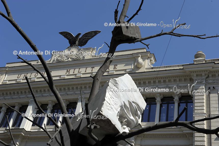 CoviTime. <br /> Roma palazzo del Unione militare.