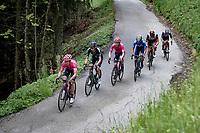 Martijn Tusveld (NED/DSM) & co up the Col du Pré (HC/1748m/12.6km@7.7%)<br /> <br /> 73rd Critérium du Dauphiné 2021 (2.UWT)<br /> Stage 7 from Saint-Martin-le-Vinoux to La Plagne (171km)<br /> <br /> ©kramon