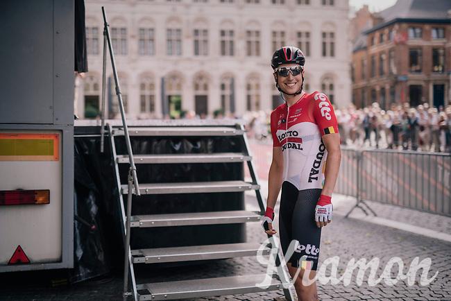 Jens Keukeleire (BEL/Lotto-Soudal) pre-race<br /> <br /> 52nd GP Jef Scherens - Rondom Leuven 2018 (1.HC)<br /> 1 Day Race: Leuven to Leuven (186km/BEL)