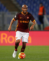 Calcio, Serie A: Roma vs Sampdoria. Roma, stadio Olimpico, 7 febbraio 2016.<br /> Roma's Maicon in action during the Italian Serie A football match between Roma and Sampdoria at Rome's Olympic stadium, 7 January 2016.<br /> UPDATE IMAGES PRESS/Riccardo De Luca