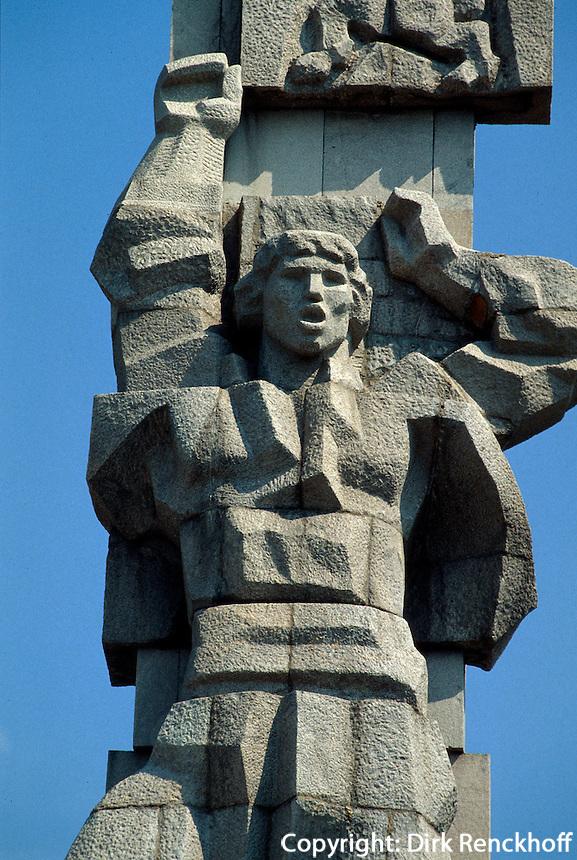 Bulgarien, Panagjurischte, Denkmal Aprilaufstand 1876